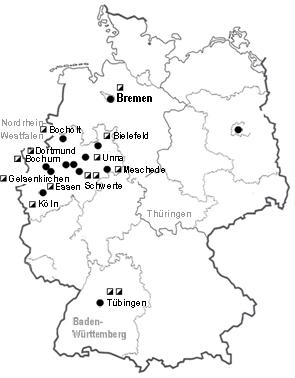 Karte Beginen